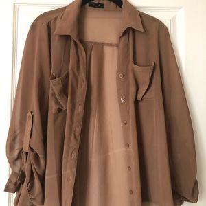 Carmel complexion blouse